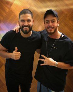 DJ Keza and Saad Lamjarred in Dubai to prepare the concert in World Trade centre