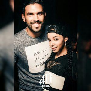 DJ Keza and Tinashe in Dubai