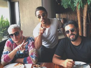 DJ Snake Nusret Salt Bae and DJ Keza in Dubai