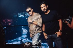 DJ Snake and DJ Keza at BOA Dubai during Drake performance