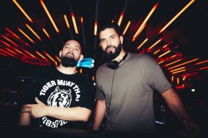 Tony Mendez and DJ Keza at 1oak Dubai